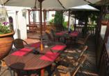 Hotel Restaurant Jägerstuben in Ritterhude, Sonnenterrasse