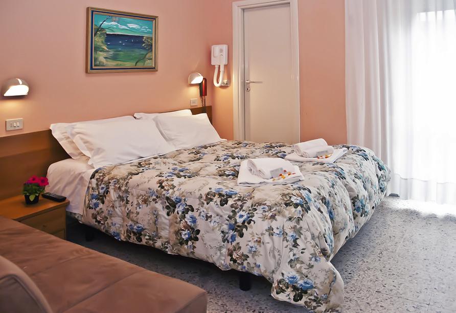 Hotel Staccoli Rimini Doppelzimmer