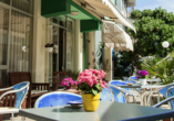 Hotel Staccoli Rimini Terrasse