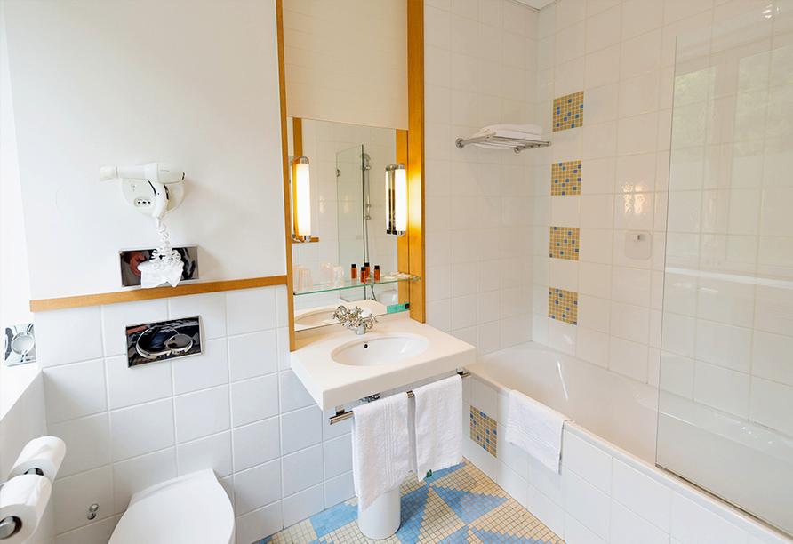 Grand Hotel Filippo Bad Niederbronn, Beispiel Badezimmer
