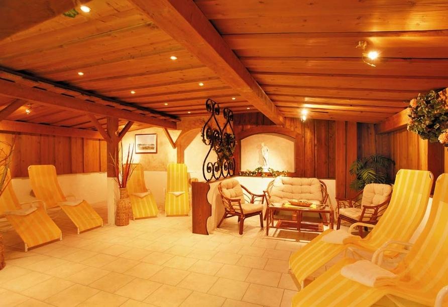 Hotel Lammwirt Jerzens Pitztal Tirol, Wellnessbereich