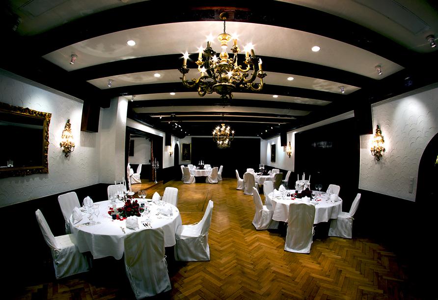 Hotel Krone in Hirschberg-Großsachsen an der Badischen Bergstraße, Restaurant
