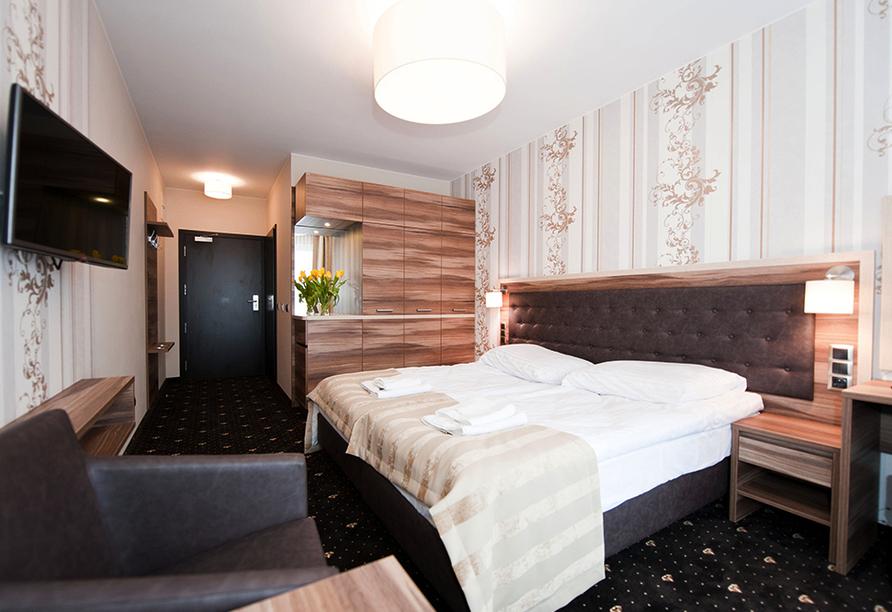 Hotel Cristal Spa in Dzwirzyno an der polnischen Ostsee, Zimmerbeispiel