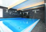 Hotel Cristal Spa in Dzwirzyno an der polnischen Ostsee, Hallenbad