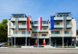 Hotel Cristal Spa in Dzwirzyno an der polnischen Ostsee, Außenansicht