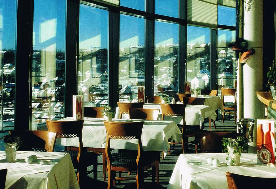 City Hotel am CCS in Suhl, Restaurant
