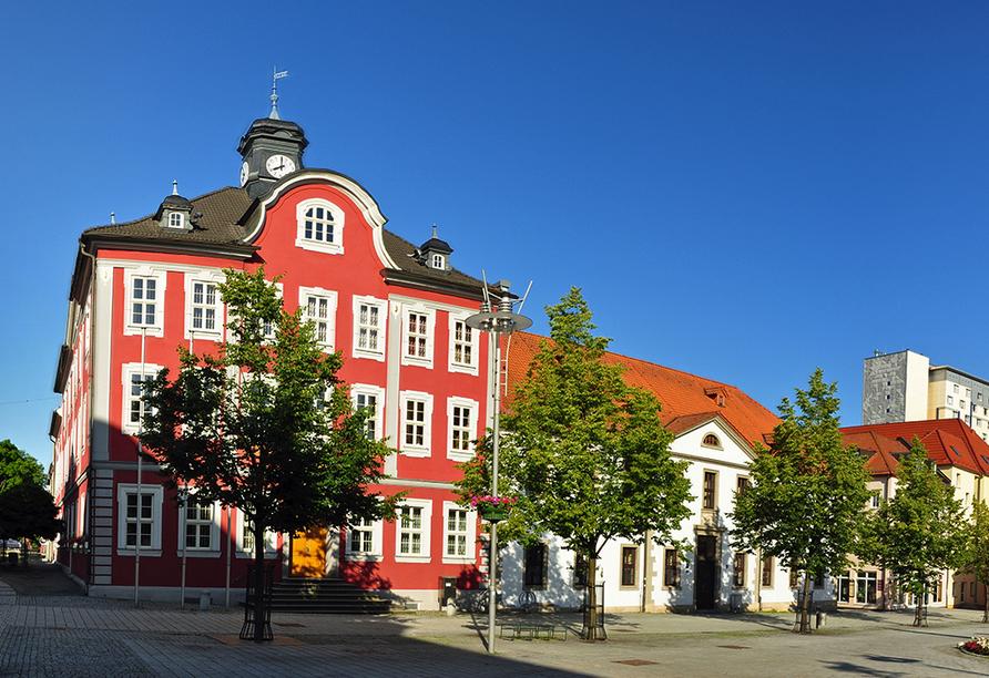 City Hotel am CCS in Suhl, Marktplatz