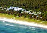 AQUAMARIS Strandresidenz Rügen an der Ostsee, Luftansicht