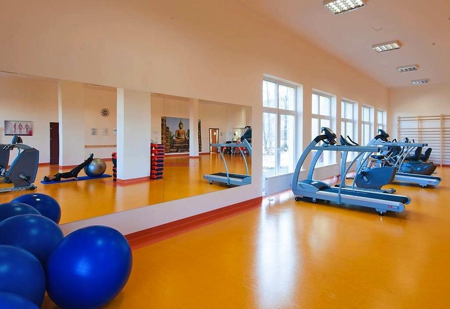 Hotel Klinika Mlodosci Medical SPA Bad Flinsberg Niederschlesien, Fitnessraum
