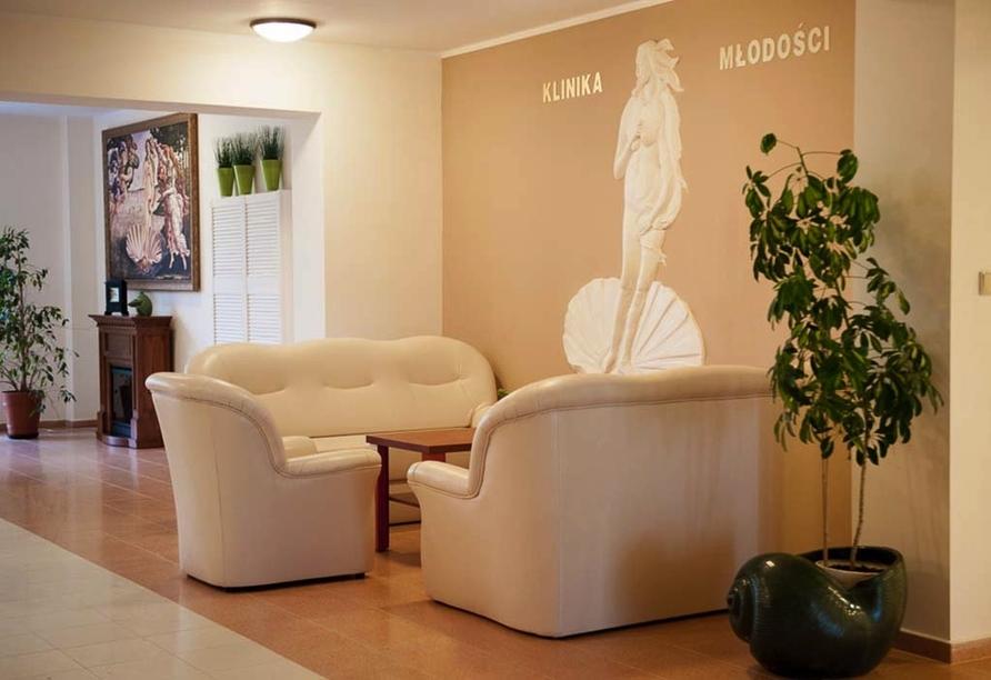 Hotel Klinika Mlodosci Medical SPA Bad Flinsberg Niederschlesien, Lobby