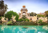 Besichtigen Sie den prachtvollen Park Ciutadella in Barcelona.