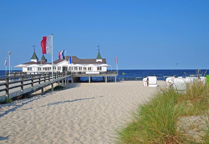 Hotel Atol Resort in Swinemünde, Polnische Ostsee, Ausflugsziel Ahlbeck