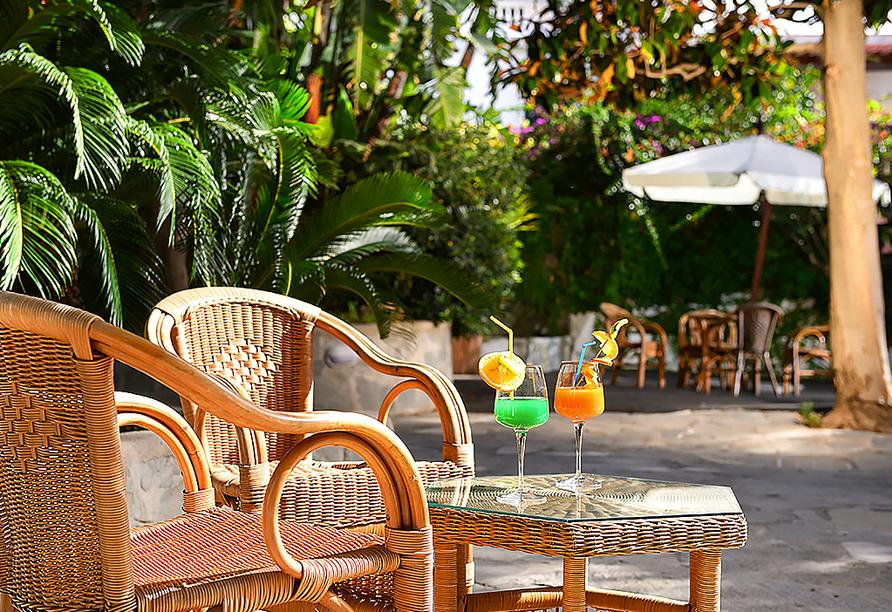 Hotel Francesco in Forio d'Ischia, Terrasse