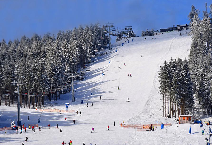 Waldhotel Altenbrak, Skigebiet Braunlage