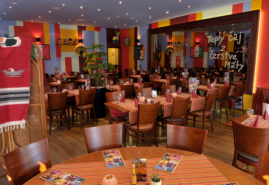 Plaza Prague Hotel in Prag, Restaurant