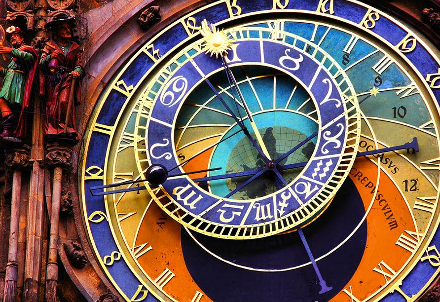 Plaza Prague Hotel in Prag, Astronomische Uhr