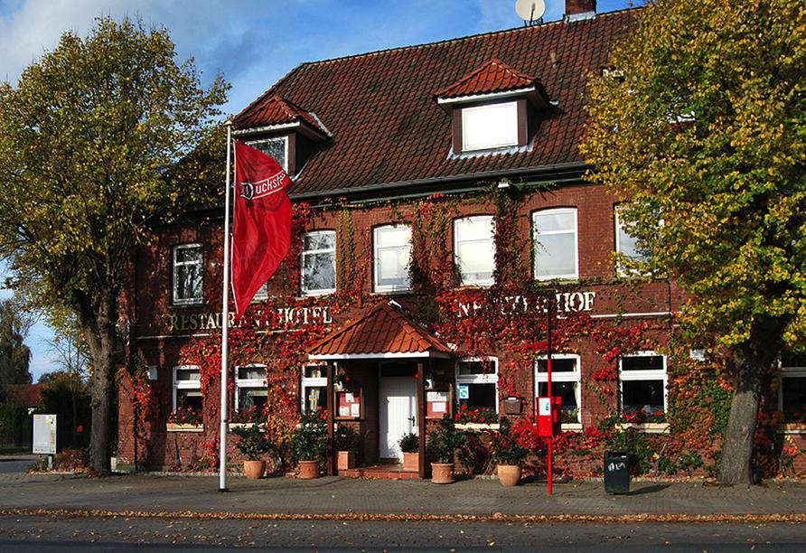 Hotel Neetzer Hof in Neetze in der Lüneburger Heide Außenansicht