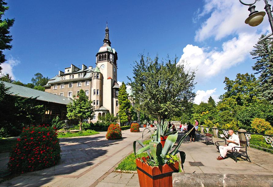 Hotel Kurhaus Kaja in Bad Flinsberg in Niederschlesien Innenstadt