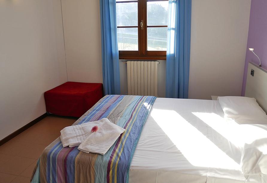 Hotel Il Castello in Pozzolengo, Beispiel Doppelzimmer