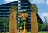 IFA Schöneck Hotel & Ferienpark, Garten