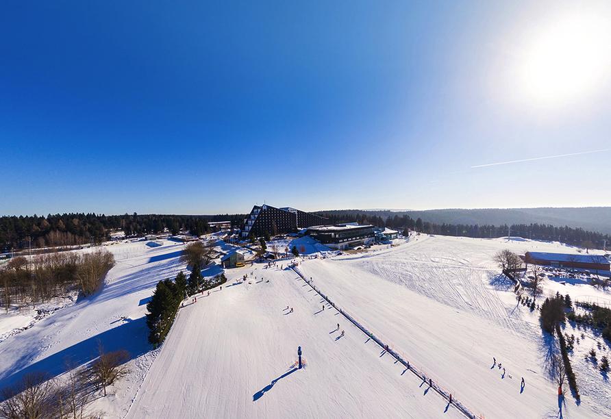 IFA Schöneck Hotel & Ferienpark, Winter
