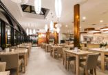 Hotel New Skanpol in Kolberg an der polnischen Ostsee Restaurant