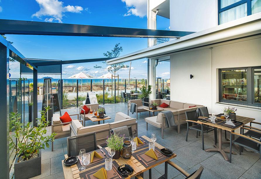 Strandhotel LUV, Wintergarten