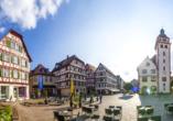 Mosbach – entdecken Sie den schönen Markplatz!