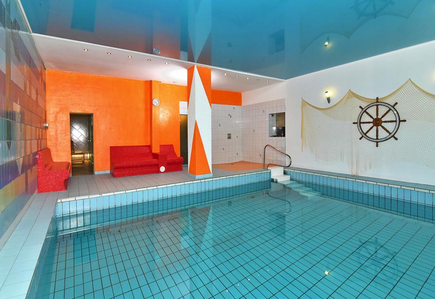 Hotel Zur Krone, Ebersdorf, Thüringen, Hallenbad