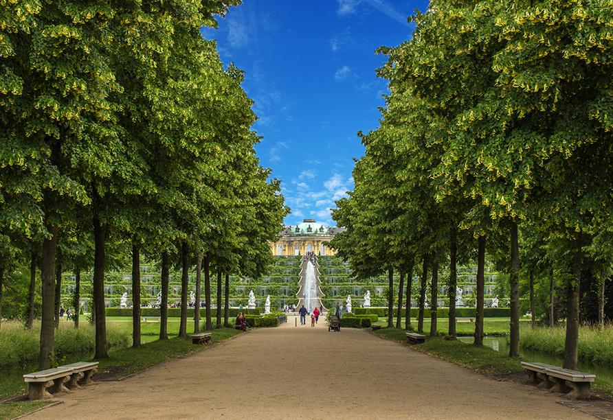 Sternenroute rund um Berlin, Potsdam und Havelland, Schloss Sansscouci