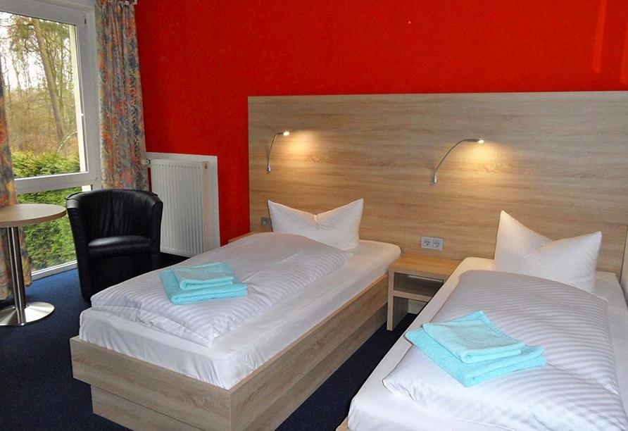 Sternenroute rund um Berlin, Potsdam und Havelland, Hotel Sperlingshof Zimmerbeispiel