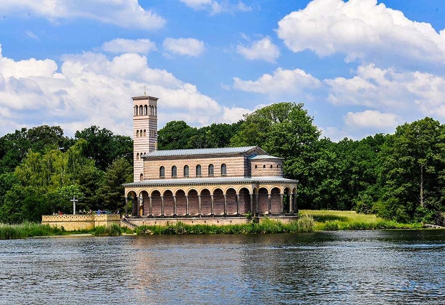 Sternenroute rund um Berlin, Potsdam und Havelland, Heilandskirche in Sacrow