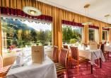 Johannesbad Hotel Palace in Bad Hofgastein, Restaurant