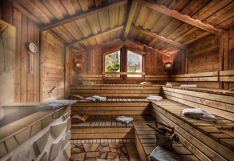 Johannesbad Hotel Palace in Bad Hofgastein, Sauna