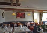 Hotel Zum Weissen Lamm in Rothenberg-Kortelshütte im Odenwald, Restaurant