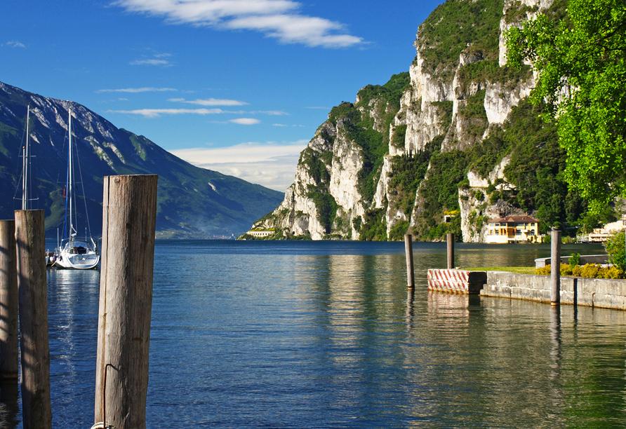 Rundreise Trentino-Gardasee, Gardasee