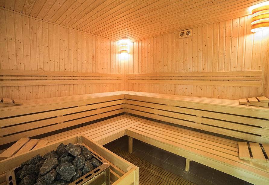 Hotel New Skanpol in Kolberg an der polnischen Ostsee Sauna