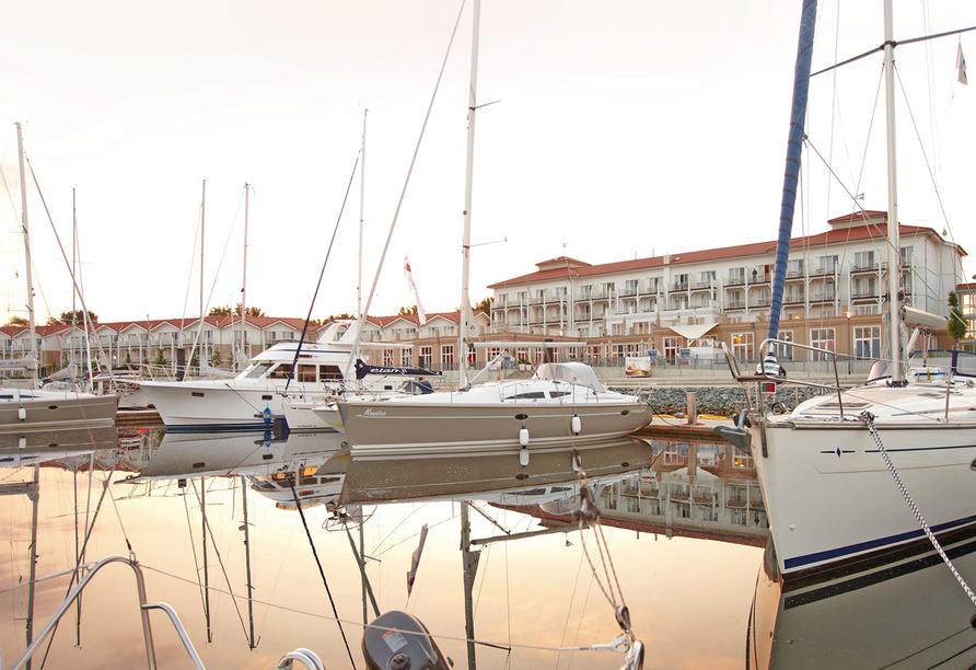 Iberotel Boltenhagen, Yachthafen