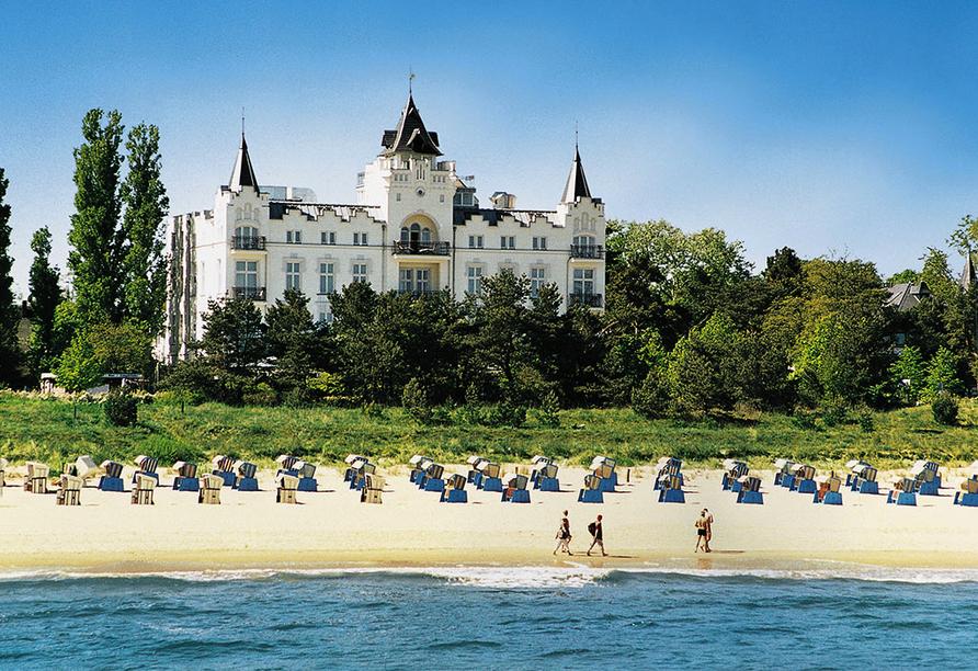 Hotel Usedom Palace in Zinnowitz, Außenansicht