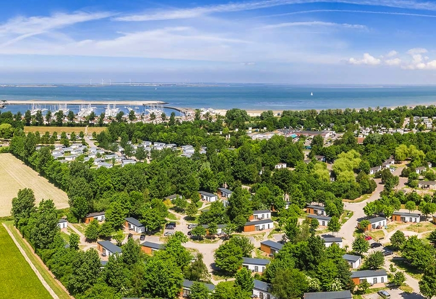 Roompoot Beach Resort, Blick zum Meer