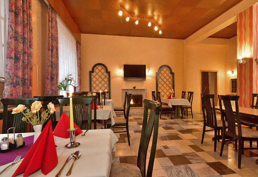 Hotel Zur Krone, Ebersdorf, Thüringen, Restaurant