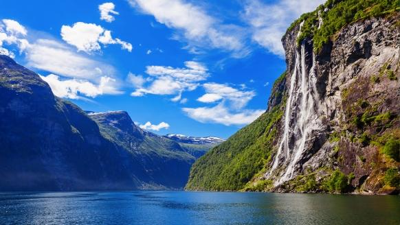 MSC Musica, Geirangerfjord