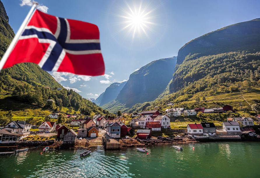 MSC Poesia, Norwegen