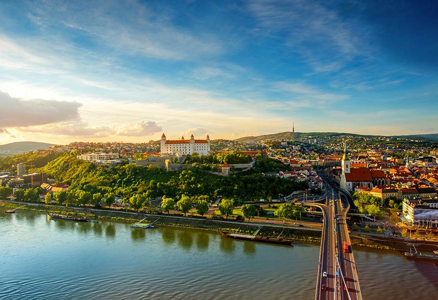 MS Amelia, Bratislava