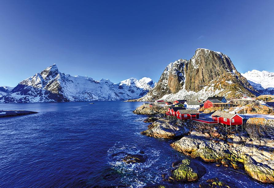 Hurtigruten, Lofoten