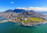 Kapstadt, die Mutterstadt Südafrikas, erwartet Sie!