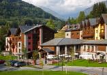 Blu Hotel Acquaseria in Ponte di Legno, Außenansicht