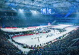 Biathlon auf Schalke, VELTINS-Arena