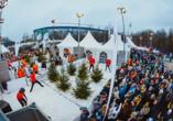 Biathlon auf Schalke, Schneeballschlacht-WM