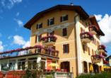 Hotel Stella delle Alpi in Ronzone in Südtirol Außenansicht